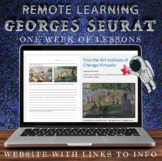Visual Art Distance Learning Online - Georges Seurat - One