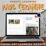 Visual Art Distance Learning Online - Paul Cézanne - One W
