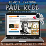 Visual Art Distance Learning Online - Paul Klee - One Week Unit