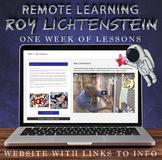 Visual Art Distance Learning Online - Roy Lichtenstein - O
