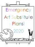 Art Sub Plans / Lessons with K thru 12  with Step-by-Steps