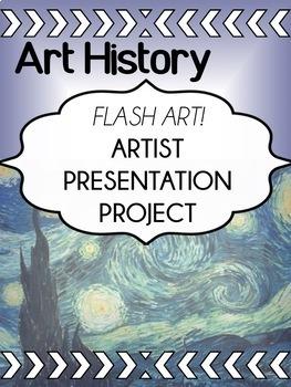 Art - Art History - Presentation Project for high school