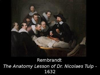 Art - Famous Artists - Art history presentation for high school