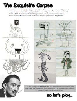 Visual Art - Intro to Course - The First Day Handouts (complete bundle)