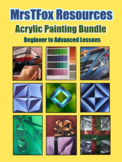 Art Painting Curriculum Acrylic Painting for Middle or Hig
