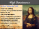 Visual Art - Renaissance Art History - Powerpoint