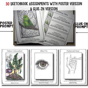 Sketchbook for High School Art