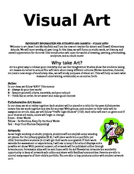 Visual Art Syllabus