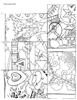 Visual Art Batch - Writing Prompt, Bookmark, Incentive