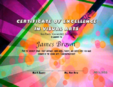 Visual Arts Achievement Certificate