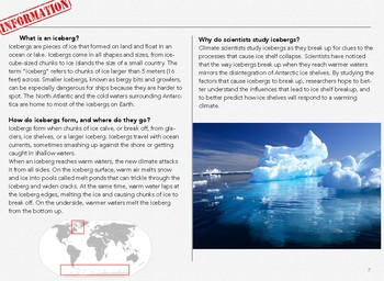 Visual Arts- Antarctica
