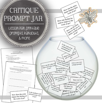 Visual Arts Critique Bundle: 20 Critiques in 12 Critique Activities