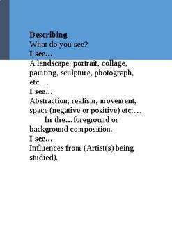 Visual Arts Critique Handbook