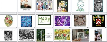Visual Arts: Identity Presentation (PPTX) (Elementary or Middle)