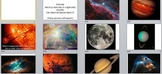 Visual Arts: Space Power Point (PPTX) (2nd, 3rd, 4th Grade)