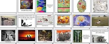 Visual Arts: Storytelling Presentation (PPTX) (Elementary