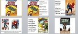 Visual Arts: Superhero Power Point (PPTX) (Elementary or Middle)