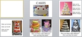 Visual Arts: Cake Power Point (PPTX) (Kindergarten, 1st Grade)