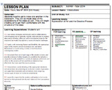 Visual Arts - Lesson Plans - Whole Unit