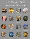 Visual Arts Movements Poster