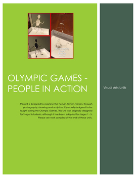 Visual Arts - Olympic Games - People in Action
