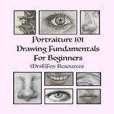 Distance Learning - Art - Beginner Portrait Drawing - Midd