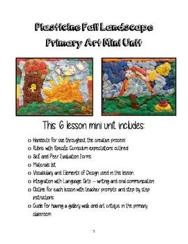 Visual Arts - Primary (Grades 1-3) - Fall Landscape Art Unit