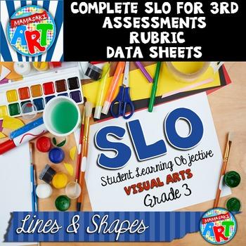 Visual Arts SLO GRADE 3 Lines and Shapes