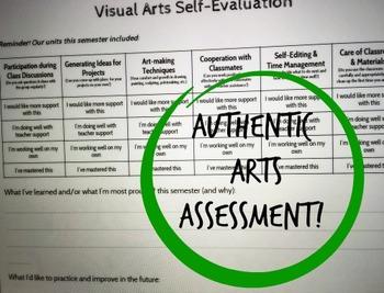 Visual Arts Self-Evaluation