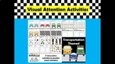 Visual Attention Interactive Activities (Google Slides) Tr