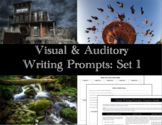 Visual & Auditory Writing Prompts: Set 1