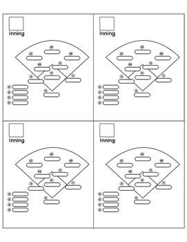 Visual Baseball Positions