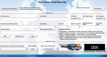 Visual Basic Excel Overview