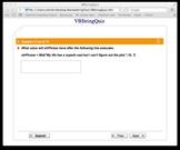 Visual Basic String practice quiz