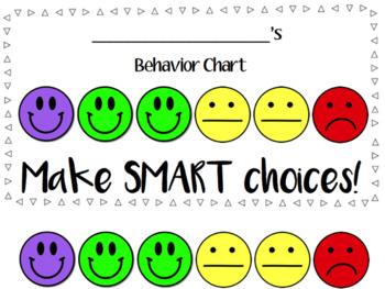 Visual Behavior Chart