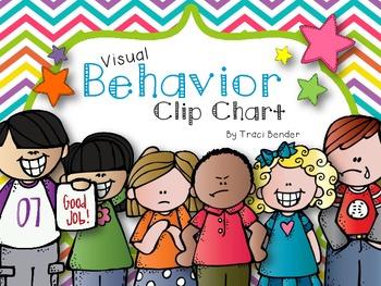 Visual Behavior Clip Chart 2 {Chevron Brights}