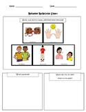 Visual Behavior Reflection Sheet