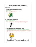 """Visual Behavior Reminder """"Set Up for Success"""""""