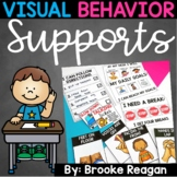 Visual Behavior Supports: Visual Cards for Behavior Expectations