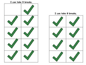 Visual Break Cards