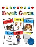 Coping Skills: Visual Break Cards