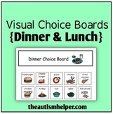 Visual Choice Board {Lunch & Dinner}