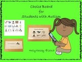 Behavior Management System-Visual Choice Boards & I am Working for Boards-Autism