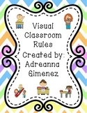 Visual Classroom Rules