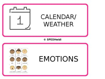 Visual Classroom Schedule!