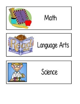 Visual Classroom Schedule