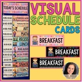 Visual Classroom Schedule Cards