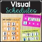 Visual Classroom Schedules - Editable