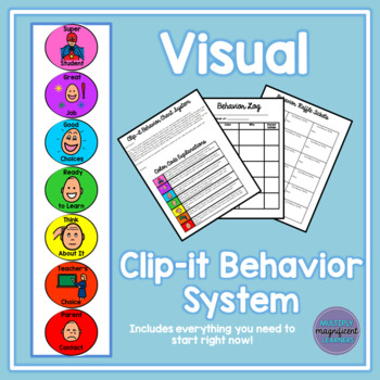 Visual Clip-It Behavior System