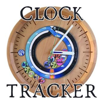 Visual Clock Tracker, Daily Schedule Tracker